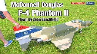McDonnell Douglas F-4 PHANTOM II RC turbine jet (Jet Legend. 1/7.5 scale. Flown by Sean Burchfield)