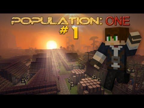 Population One - Episode 1 [Minecraft Short Film/Movie Series]