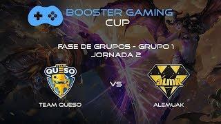 🔴 TEAM QUESO vs ALEMUAK l BOOSTER GAMING l Arena of Valor en directo