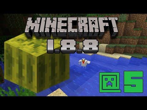 Minecraft 1.8.8 #5 - Полностью автоматическая ферма арбузов и тыкв