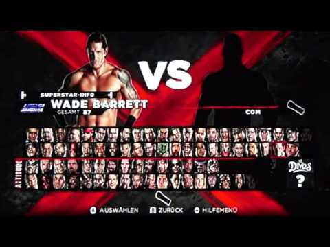 WWE 13 Wii All Characters