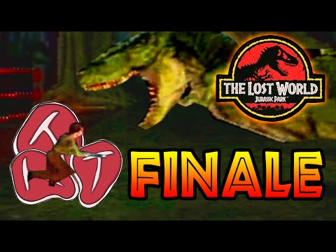 Sarah Harding Prey The Lost World Jurassic Park (PS1) Finale [ Jurassic Park Month ]
