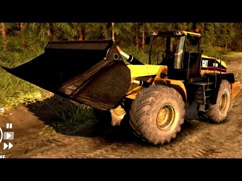 Spin Tires | Heavy Machinery! Caterpillar 966H | Download Link In Description