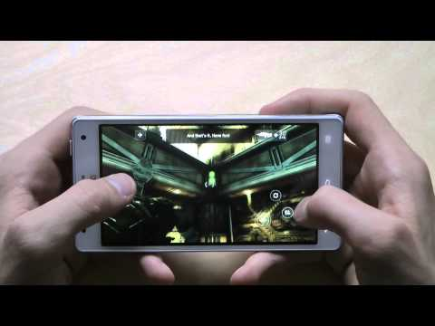 ShadowGun For LG Optimus 4X HD Gameplay & First Hands-On Review