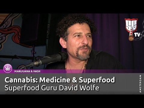 Superfood Expert David Wolfe on Cannabis, Amsterdam Coffeeshops, CBD OIl, Tobacco. Smokers Guide TV