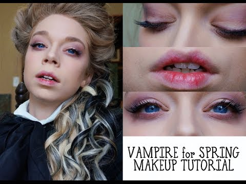 SPRING VAMPIRE MAKEUP TUTORIAL
