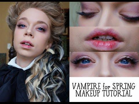 Spring Vampire Makeup Tutorial