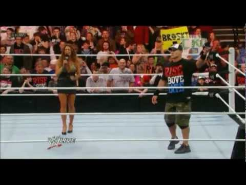 John Cena disses EVE Raw 2/20/12