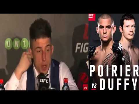 Fight Night Dublin  Post fight Press Conference Poirier vs  Duffy
