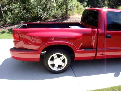 Sold 1998 S10 Ss Red Stepside 242k Miles 3000 Youtube