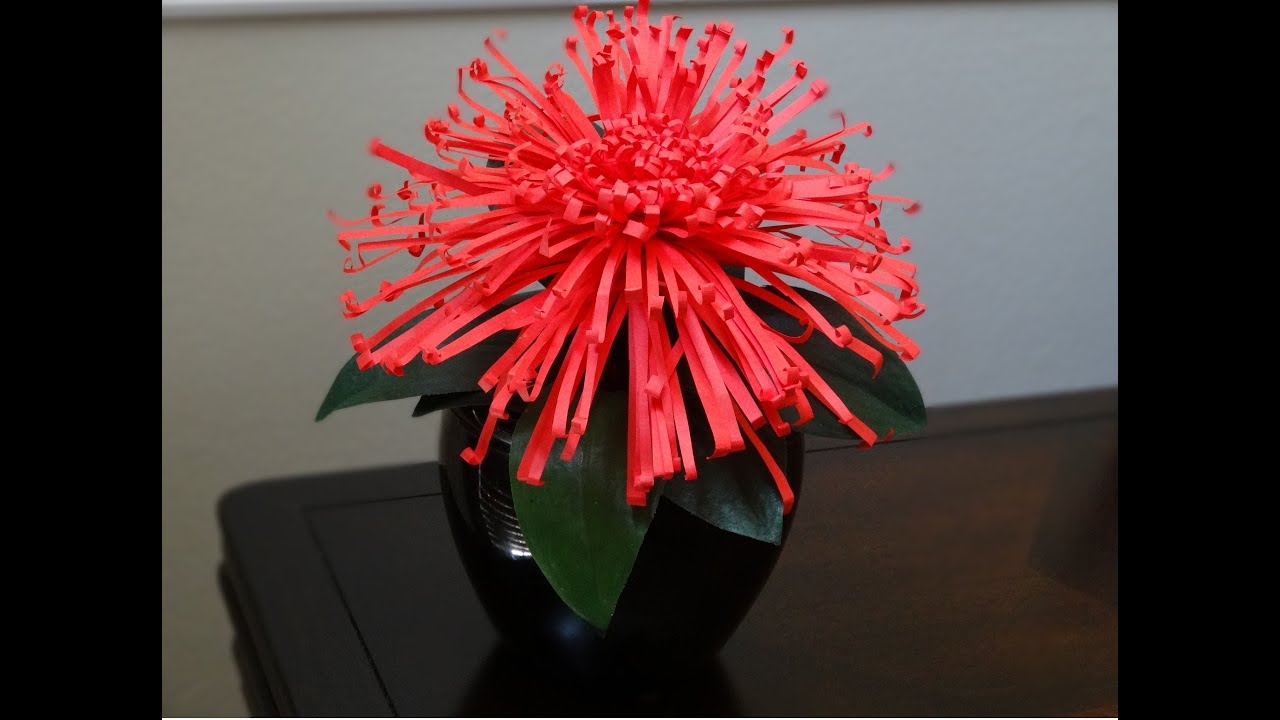 How To Make Flower With Paper Easy Comousar