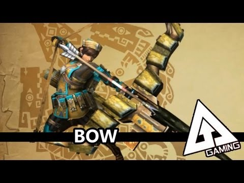 Monster Hunter 3 Ultimate Bow Tutorial