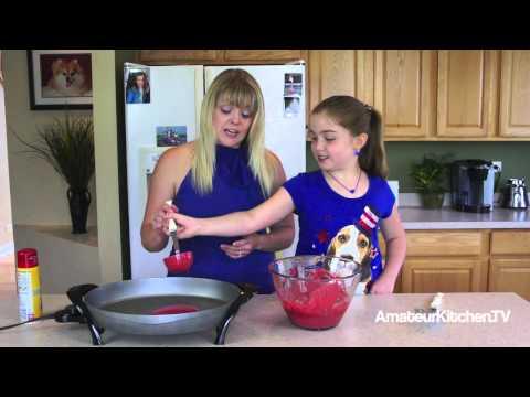How to Make Red Velvet Pancakes