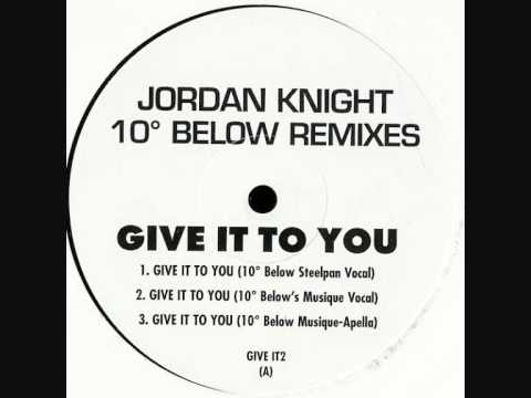 Jordan Knight - Give It To You- Remix