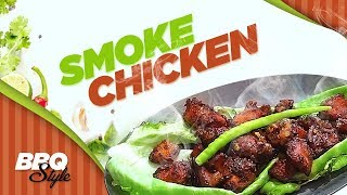 Sizzling Smoke Chicken in Barbeque Sauce in Tamil | Smoked BBQ Chicken Recipe