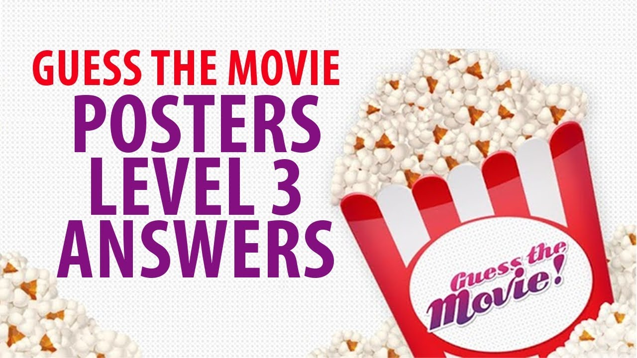 Guess the movie poster answers level 1