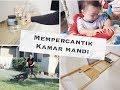 Vlog 124  NGEDEKOR KAMAR MANDI MAINAN BARU PANGKAS RUMPUT