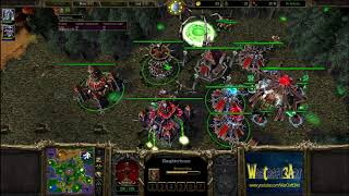 120(UD) vs Infi(ORC) - WarCraft 3 Frozen Throne - RN3392