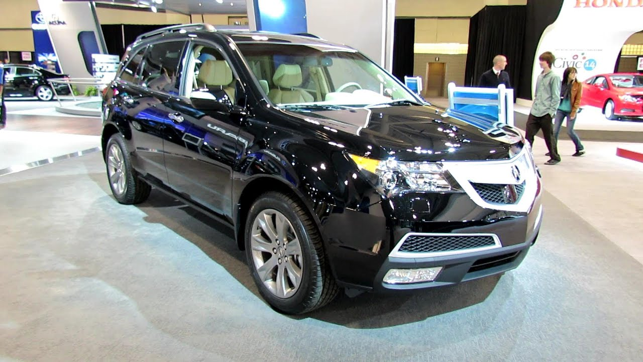 2012 Acura MDX SH-AWD Exterior and Interior at 2012 Toronto Canadian International Auto Show ...