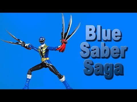 Blue Saber Saga Toy Review! (Power Rangers Super Megaforce) klip izle