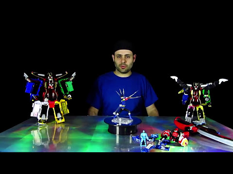 Blue Saber Saga Toy Review! (Power Rangers Super Megaforce)