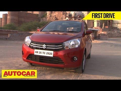 Maruti Suzuki Celerio EZ Drive Automatic & Manual | First Drive Video Review | Autocar India