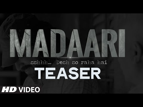 Madaari Teaser Video | Irrfan Khan, Jimmy Shergill | Official TRAILER  Coming Out on 11th May, 2016