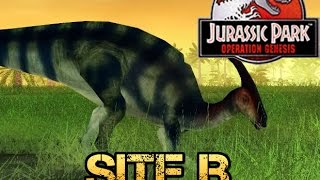 Spiral Sunday - Jurassic Park Operation Genesis - Site B
