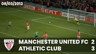 Europa L. 11-12 - 1/8 Ida - Manchester Utd. 2 Athletic Club 3