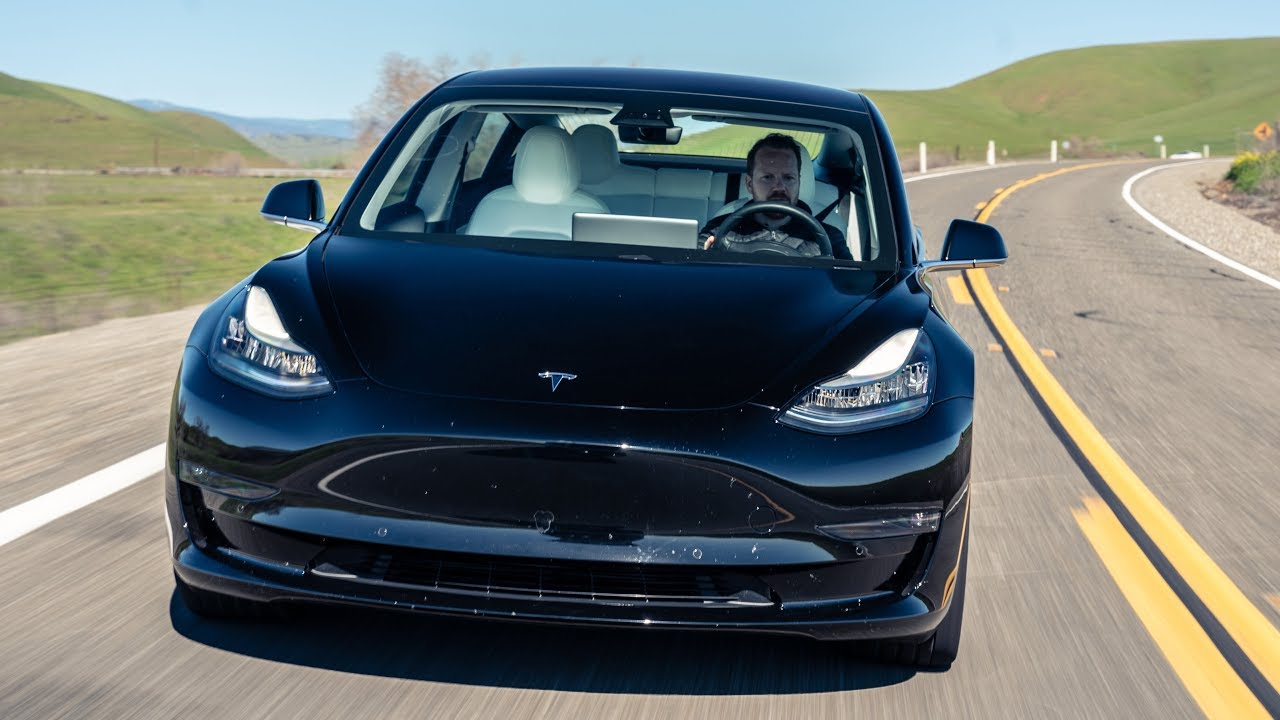 Ultimate TESLA Day: Model Y, Model 3 Road Trip and Factory Tour | Top Gear
