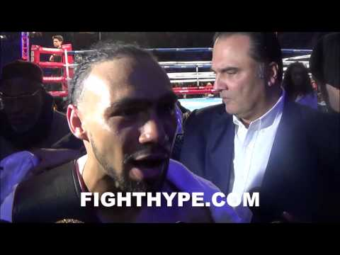 KEITH THURMAN SAYS SHAWN PORTER IS NUMBER ONE OPTION EYES BATTLE OF UNDEFEATEDS