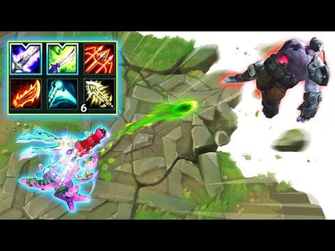 """LEAGUE OF HYPERCARRY MONTAGE - Insane """"Game Breaking"""" Damage"""