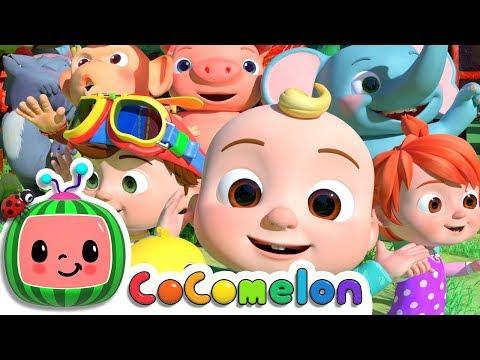 Animal Dance Song  Cocomelon ABCkidTV Nursery Rhymes  Kids Songs