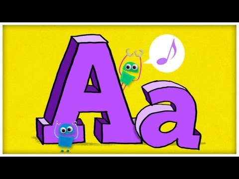 "ABC Song: The Letter A, ""Hooray For A"" by StoryBots"