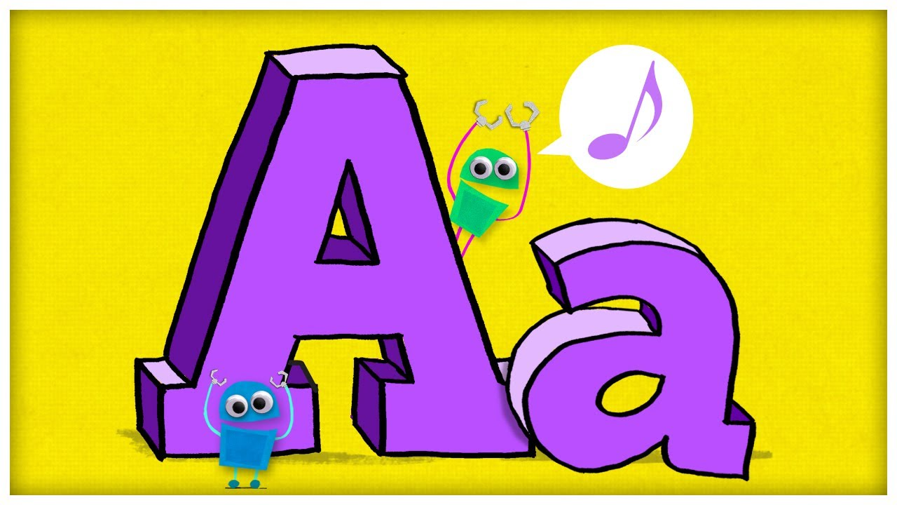 "ABC Song: The Letter A, ""Hooray For A"" by StoryBots - YouTube"
