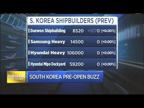 150722 CNBC ASIA SHIPBUILDERS 조선주 JUNE YOON CNBC