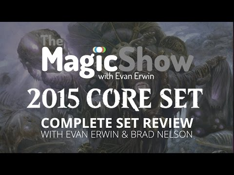 Magic the Gathering Core Set 2015 Complete Set Review - Black