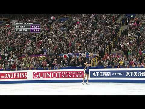 Mao Asada - 2014 World Figure Skating Championships - Free skating