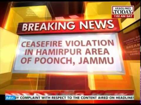 Pakistan violates ceasefire in Hamirpur area