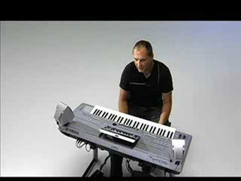 Yamaha TYROS 3 - Martin Harris part 1