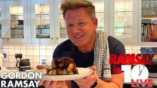 Gordon Ramsay Makes Quick & Easy Bangers & Mash | Ramsay in 10