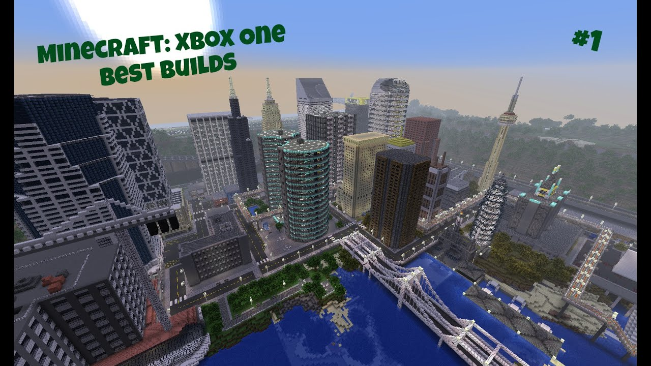 How To Build A Town In Minecraft Xbox