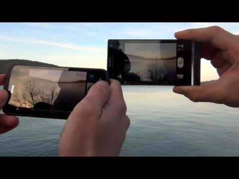 HTC One S vs. Sony Xperia S -- Camera comparison  - English Full HD