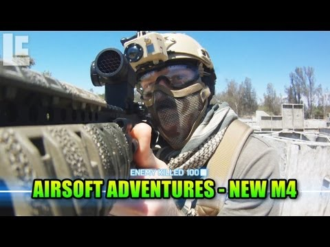 Airsoft Adventures - My New KWA M4 CQB! (SC Village Viper Gameplay/Commentary)