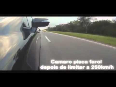 Civic Si Black Bull Vs Camaro SS (Versão Americana 426hp) 0 a 250Km h