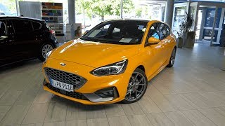 Ford Focus ST 2019 280hp Complete Walkaround and Review inside outside Sound Test Exhaust