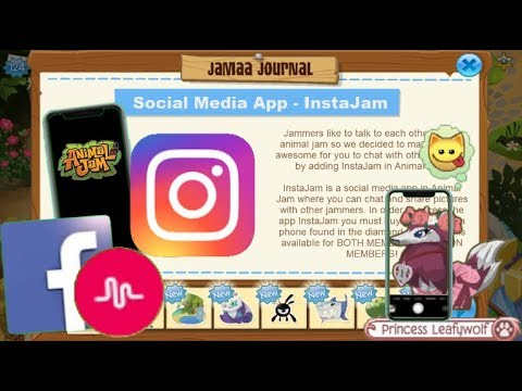If Social Media Apps Were Added To Animal Jam