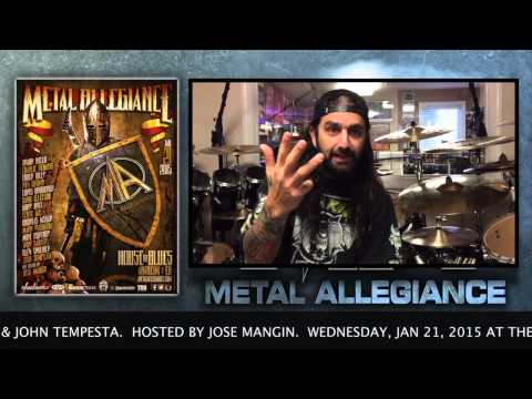 Mike Portnoy Talks About The Metal Allegiance Show At House Of Blues January 21, 2015