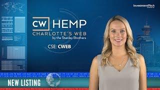 Charlotte's Web Holdings (CSE:CWEB) New Listing