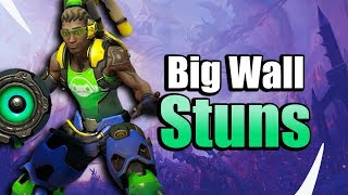 Lucio Wall Ball! Big Value with Lucio's New Trait - Heroes of the Storm w Kiyeberries
